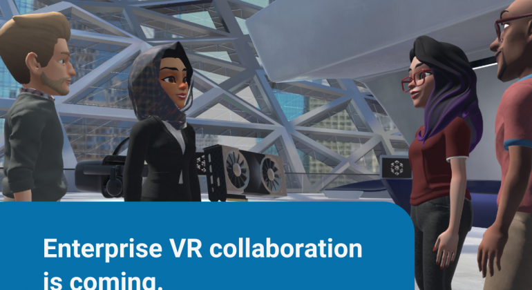 Enterprise VR collaboration us is coming